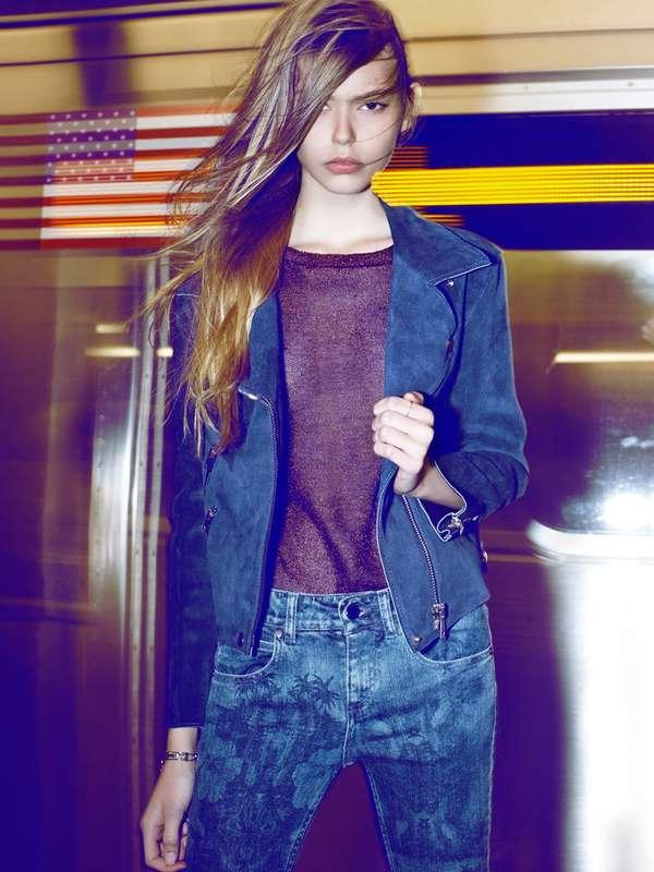 Blurry City Subway Shoots