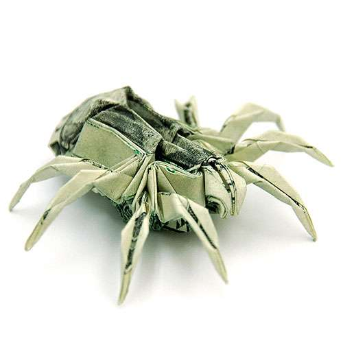 Folded Money Sculptures