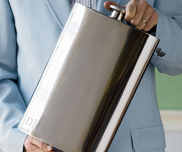 one Gallon Stainless Steel Flask