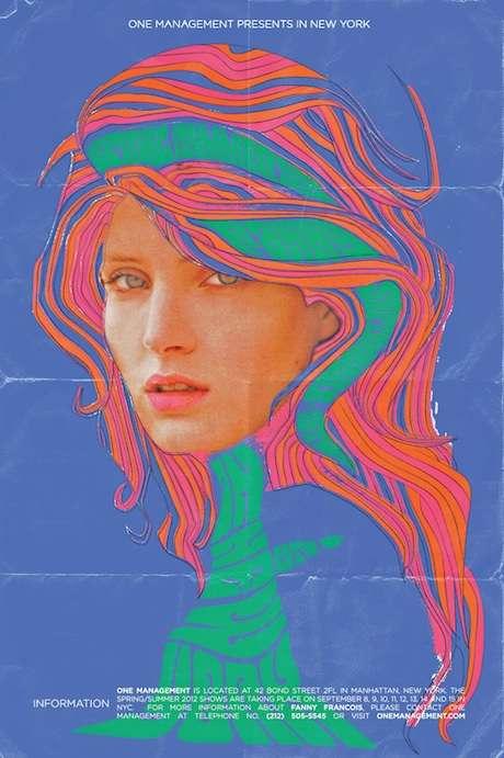 Psychedelic Pastel Campaigns