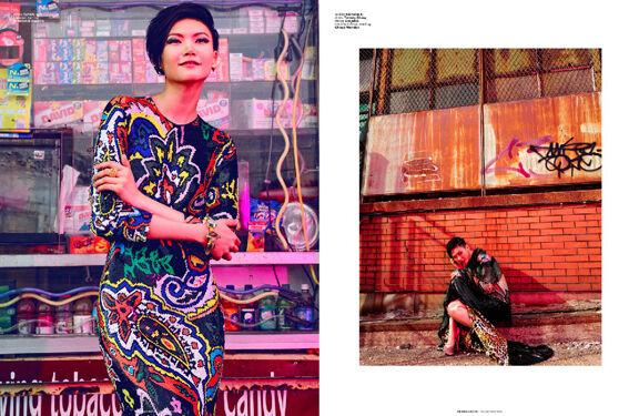 Eccentric Downtown Couture