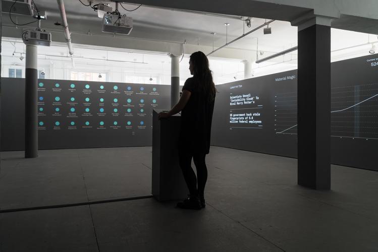 Futuristic Online Exhibitions