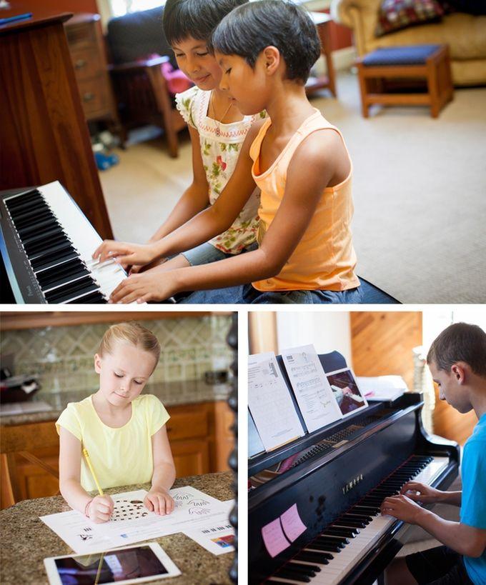 Interactive Online Piano Programs