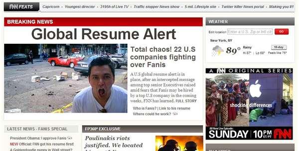 News Network Resumes
