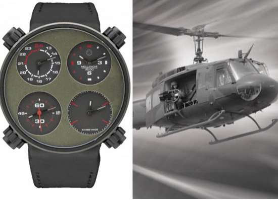 Historic Helicopter Timepieces