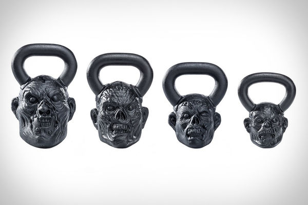 Ghoulish Undead Kettlebells