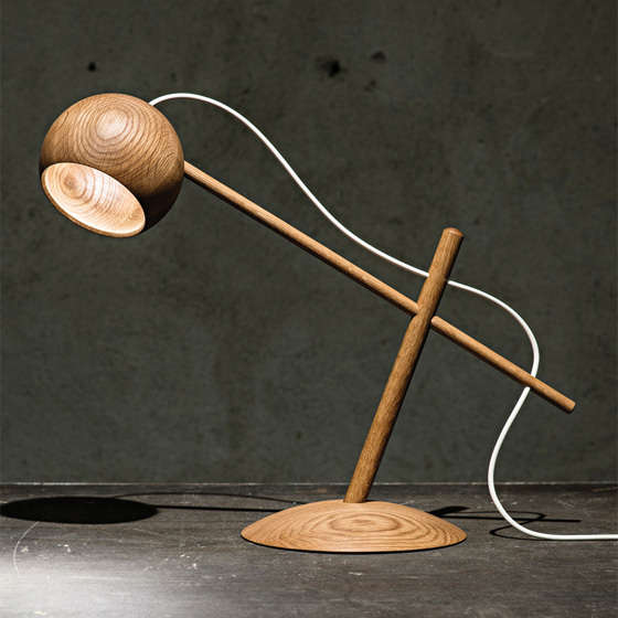 Oo Table Lamp by Sverre Uhnger