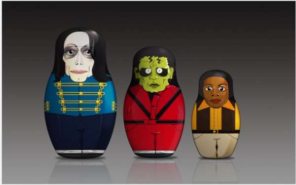 Popstar Matryoshka Dolls