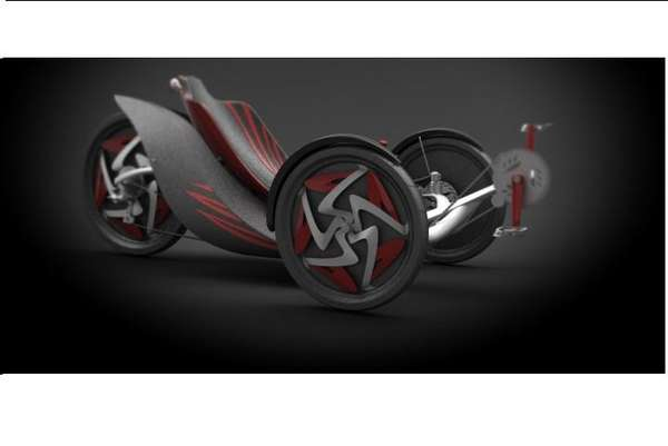 Pedal-Powered Trikes