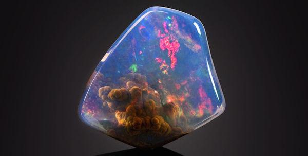 Nebula Inclusion Gemstones