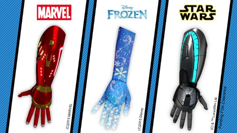 Bionic Cartoon Prosthetics