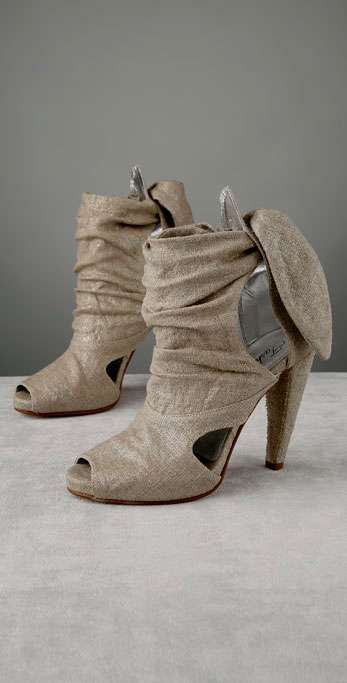 Open-Toe Booties