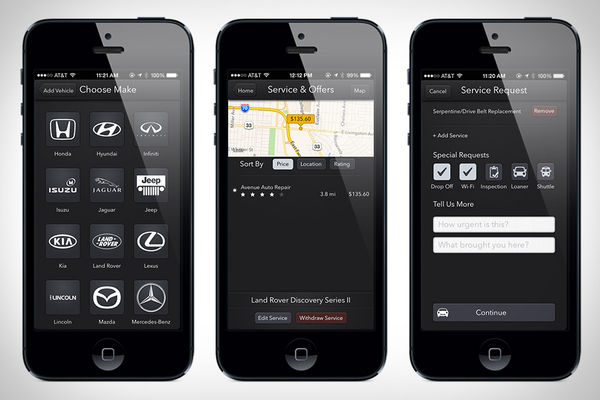 Auto-Servicing Apps