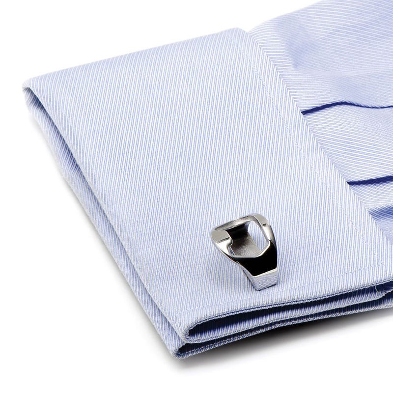 Bottle-Opening Cufflinks