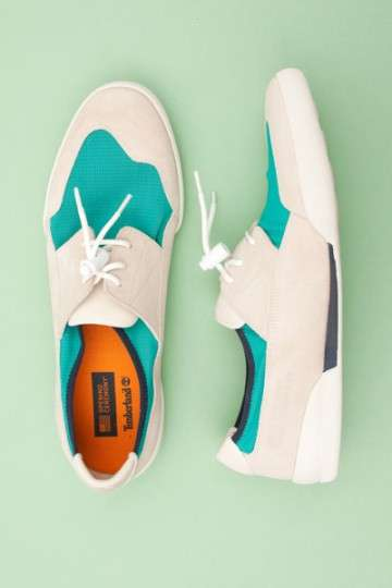 Tricolor Boat Shoes