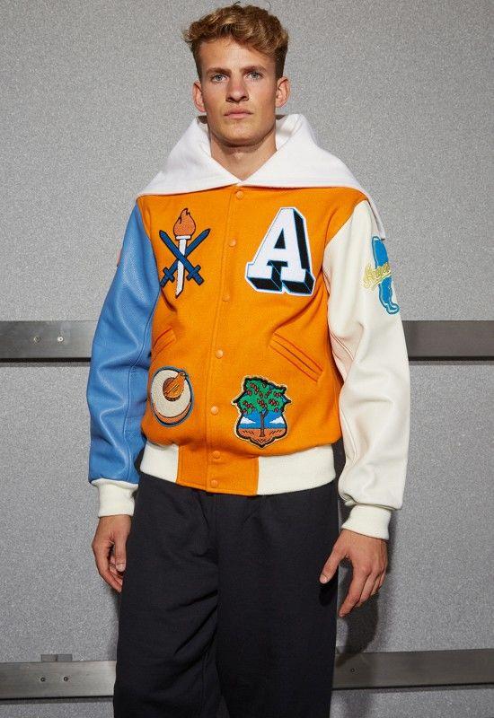 Patriotic Designer Varsity Jackets