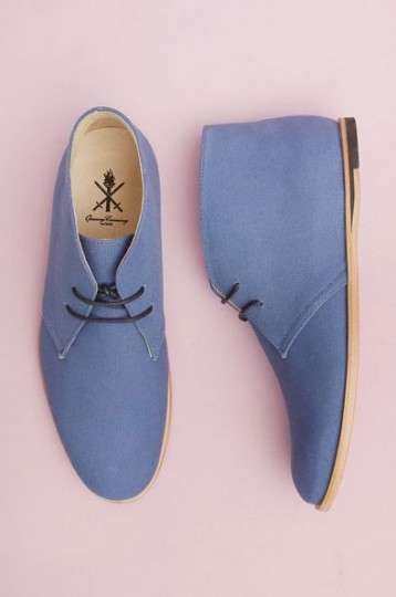 Elvis-Inspired Blue Suede Shoes