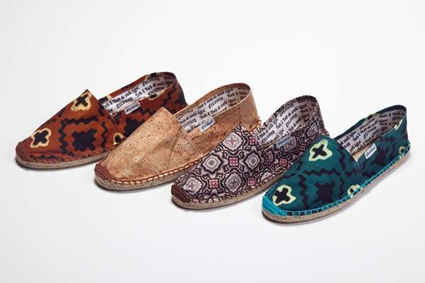Printed Hipster Espadrilles