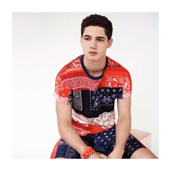 Bandana-Patterned Sportswear