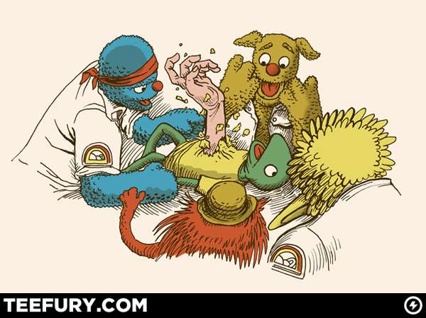 Horrific Muppet Tees