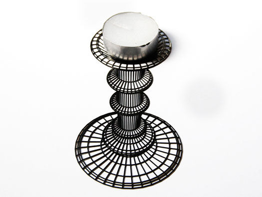 Optical Illusion Candleholders