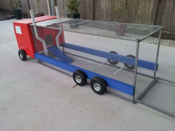 Optimus Prime Chicken Coop