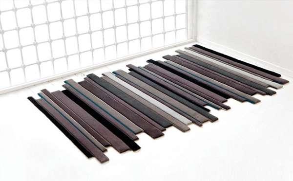 Gradient Wooden Carpets