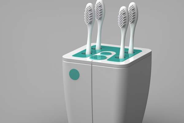 Hi-Tech Teeth-Cleaning Hubs