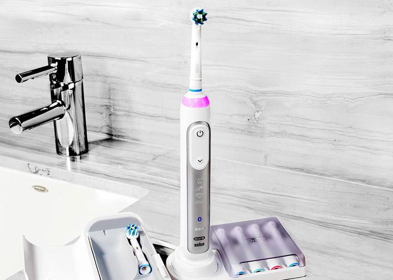 Motion-Sensing Toothbrushes