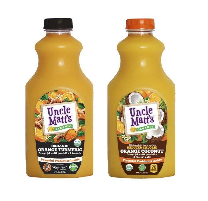 Infused Orange Juices