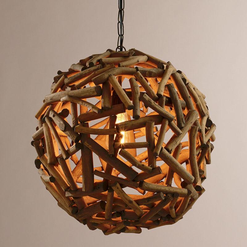 Circular Hardwood Illuminators