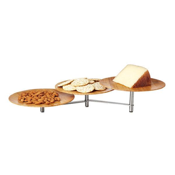 Pivoting Dish Trays