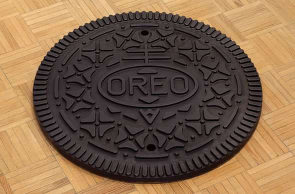Oreo Cookie Manhole Cover