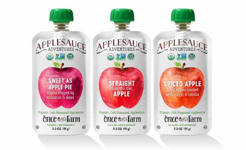 Cold-Pressed Applesauces