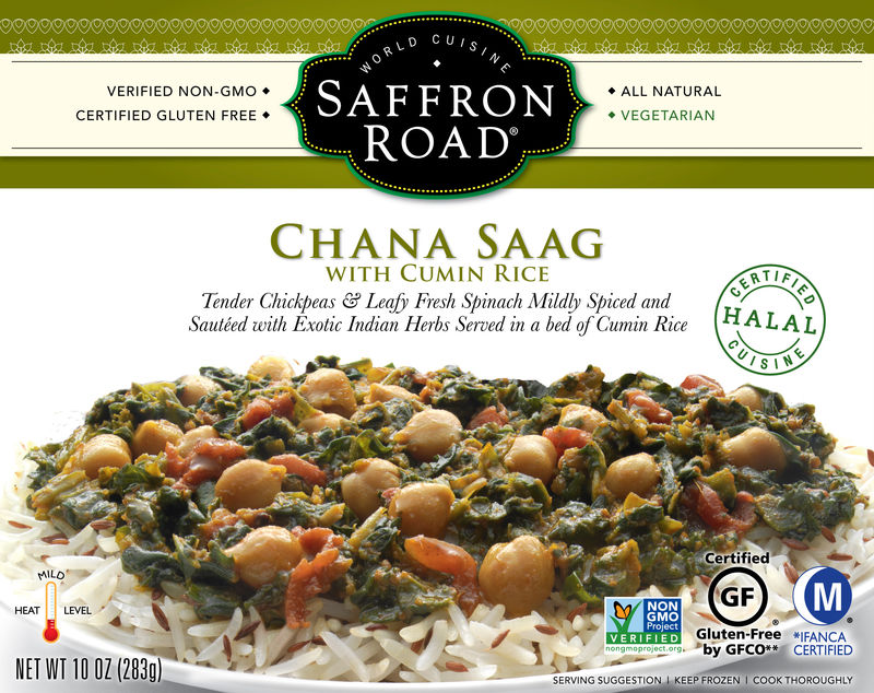 Spiced Organic Frozen Meals