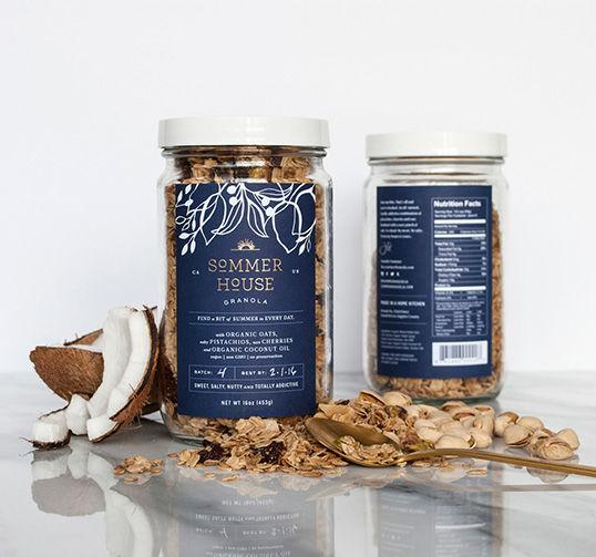 Rustic Jar Granola Branding