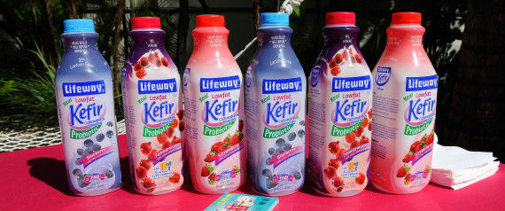 Organic Kefir Drinks
