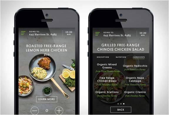 Organic Meal Delivery Apps