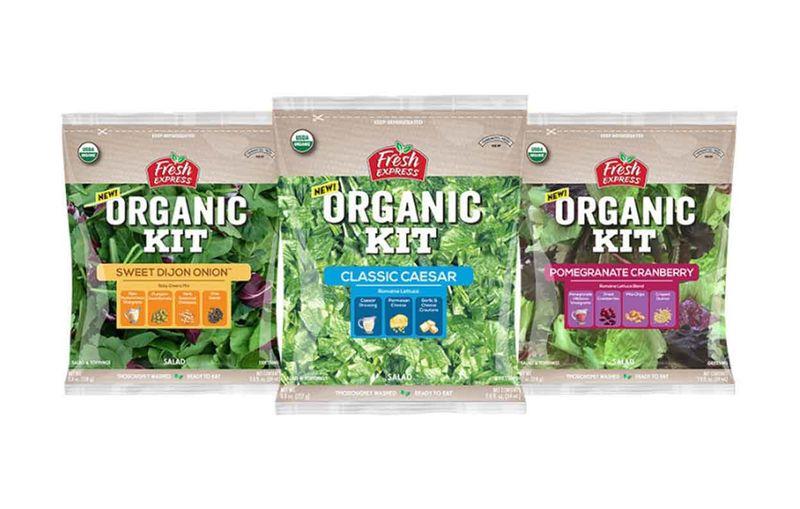 Organic Salad Kits