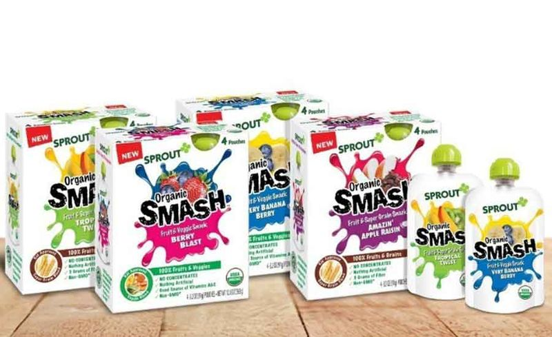 Squeezable Snack Pouches
