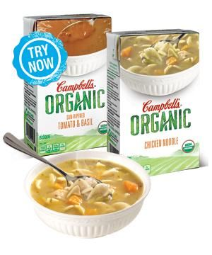 Hearty Organic Soups
