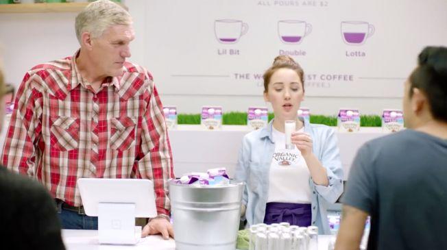 Creamer-Branded Pop-Up Cafes