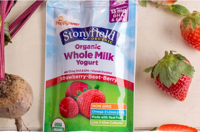 Child-Friendly Yogurt Pouches