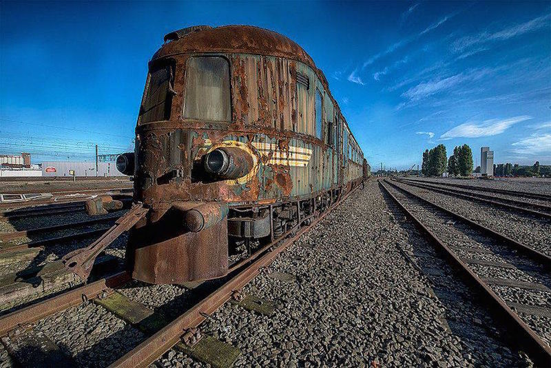 Abandoned Railway Photography