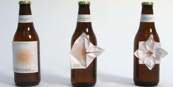 Folded Booze Labels