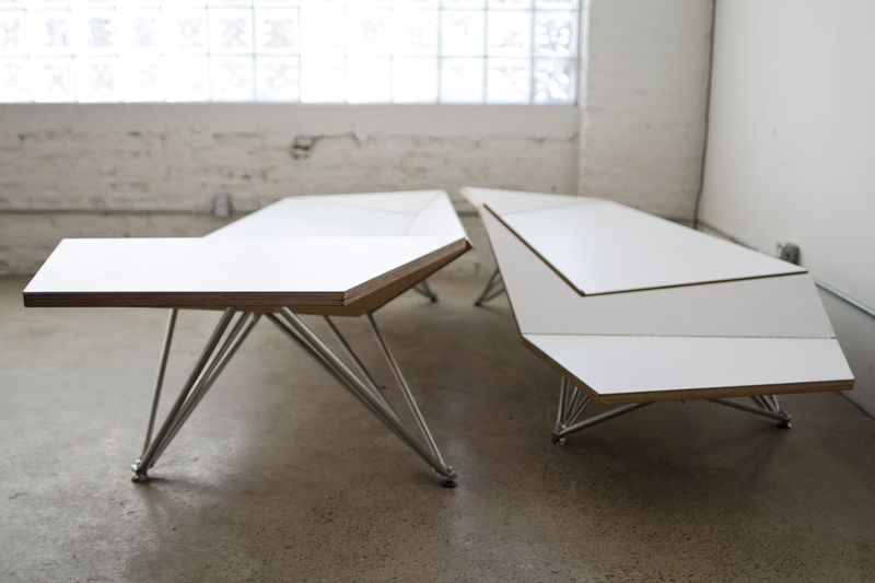 Bendable Origami Benches