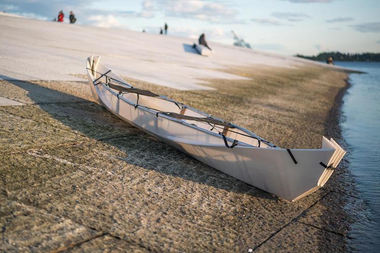 functional origami canoes origami canoe