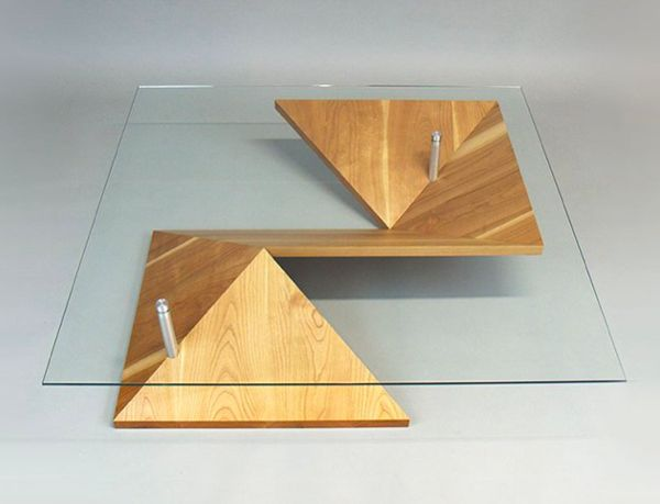 Illusory Paper-Folded Furniture