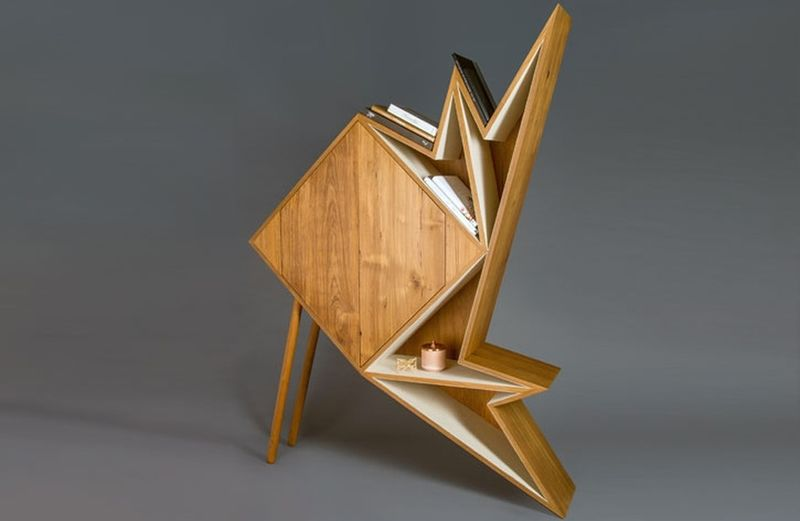 Origami-Inspired Cabinets : Origami furniture - photo#3