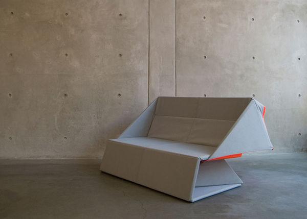 Minimalist Origami Sofas